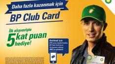 BP Club Card kazandırmaya devam ediyor!