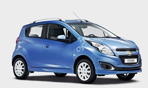 Chevrolet Spark (MY 2014) Bubble Edition