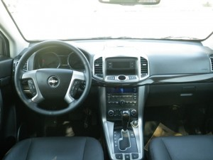 Chevrolet Captiva test