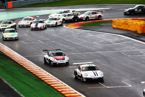 Porsche Sports Cup Deutschland - 5. Lauf Spa-Francorchamps 2013 Foto: Sören Herweg