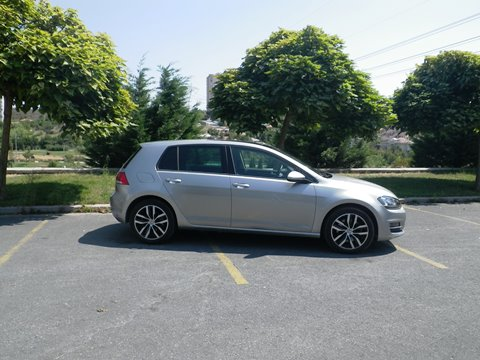 VW golf test3