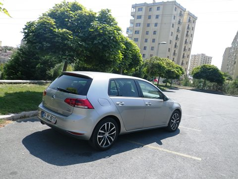 VW golf test4