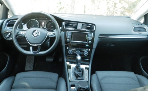 VW golf test5
