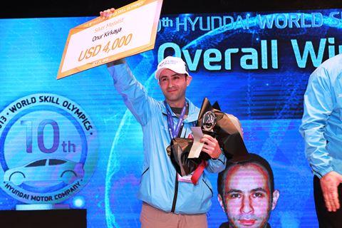 Hyundai Teknisyen Olimpiyatlari-Onur Kirkaya