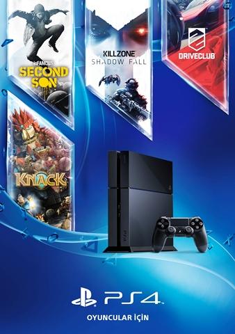 Sony_PS4 Turkiye Piyasaya