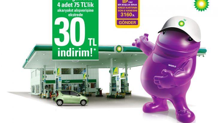 BP VE YAPI KREDİ'DEN 30 LİRALIK KIYAK