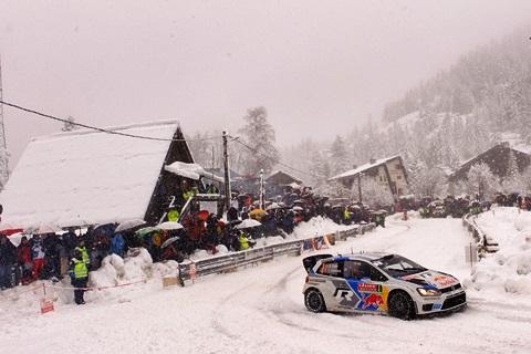 MOTORSPORT : Rallye du Monte Carlo - WRC - 18/01/2014