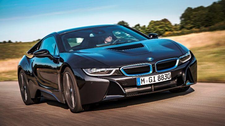 Dünyanın Lazer Aydınlatmalı İlk Otomobili BMW i8!