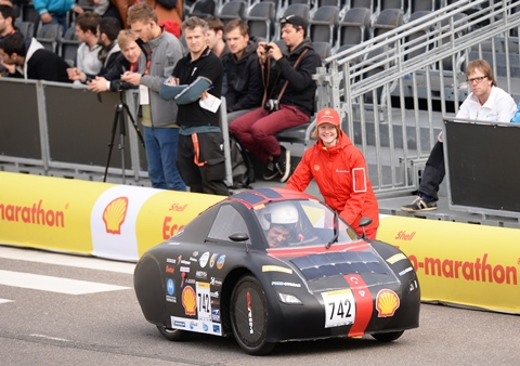 Shell Eco-marathon Europe 2013