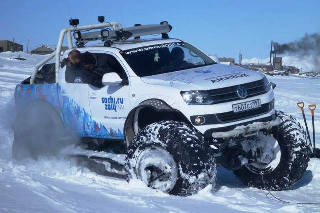 VW Amarok Kuzey Kutbu3