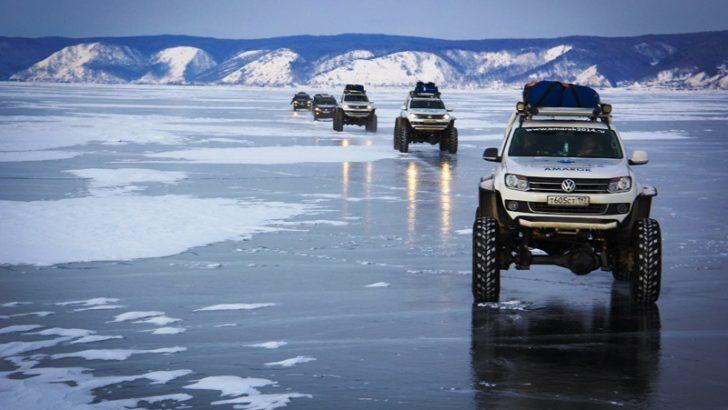 VW Amarok Kuzey Kutbu'nu Fethetti!