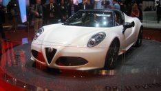 Alfa Romeo'dan Alfa 4C Spider Konsepti