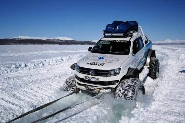VW Amarok Kuzey Kutbu2