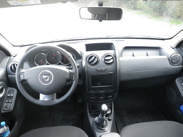 Dacia Daster test3