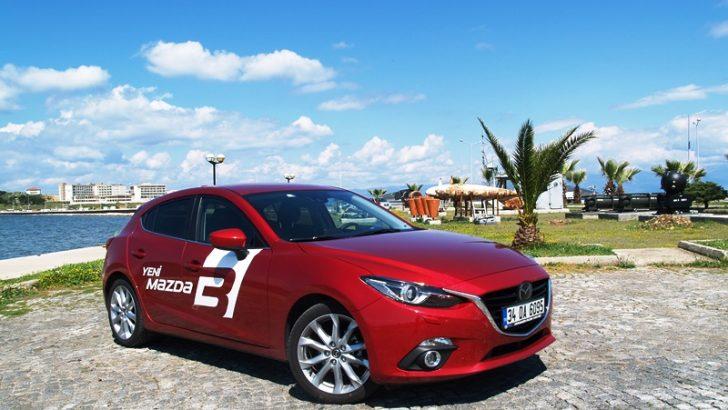 Mazda3 Türkiye Yollarında