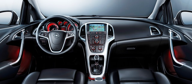 Opel Astra lasman8