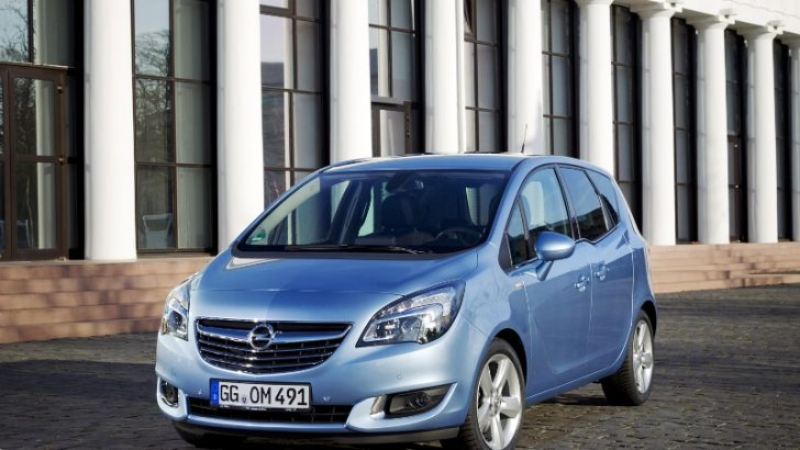 Opel Meriva, Segmentinde Almanya'da Bir Numara