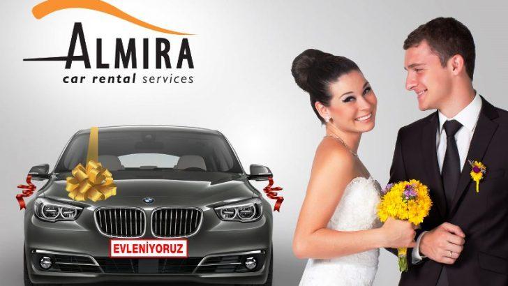 Düğün Arabanız Almira'dan!