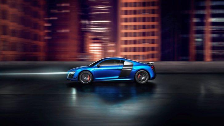 Audi'den lazer farlara sahip ilk seri üretim otomobili: R8 LMX