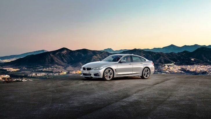BMW 4 Serisi Gran Coupé Coupé çizgilerine sahip bir 4 kapılı