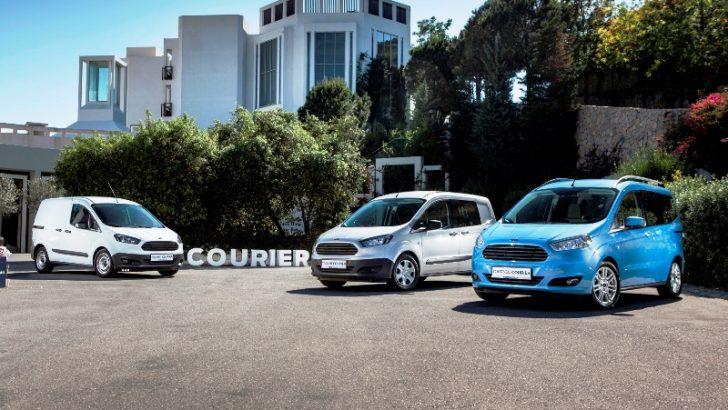 Ford'dan Lider Model Courier pazara hızlı girdi, ticarinin lideri oldu