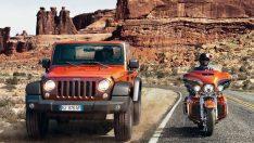 Efsanevi markalar Jeep® ve Harley-Davidson®  güçlerini birleştirdi!