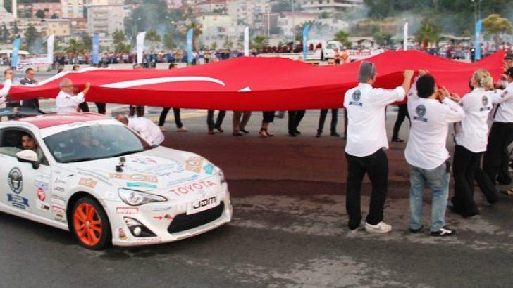 Guinness World Records Dünya Drift Rekorunu Toyota GT86 ile Türkiye'de