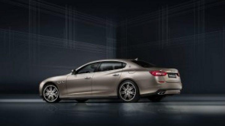 Maserati Quattroporte'de Ermenegildo Zegna imzası