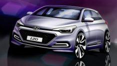 İzmitli Hyundai i20 Yeni Yüzünü Gösterdi