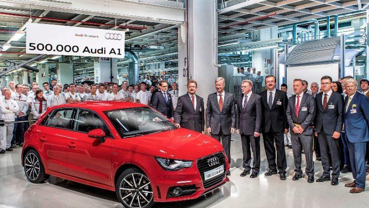 500 bininci Audi A1 üretildi!
