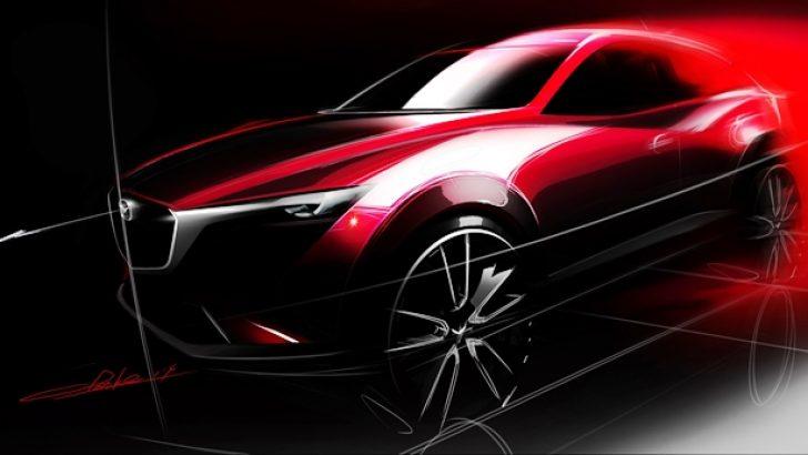 Mazda Yepyeni CX-3'ü LA Otomobil Fuarı'nda görücüye çıkarıyor