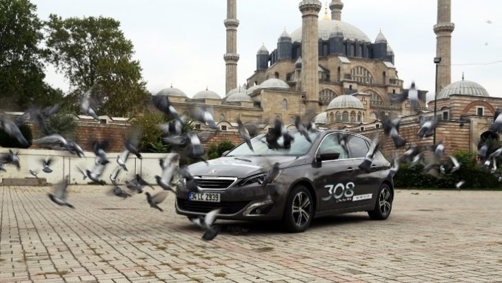 Yeni Peugeot 308 1.2l 130 hp PureTech ile Edirne'den Ardahan'a 1.718 km'lik parkurda sadece 1 depo yakıt tüketimi !