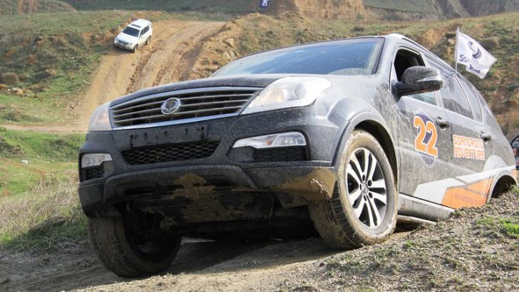 SsangYong Adventure İle Off-Road Heyecanı