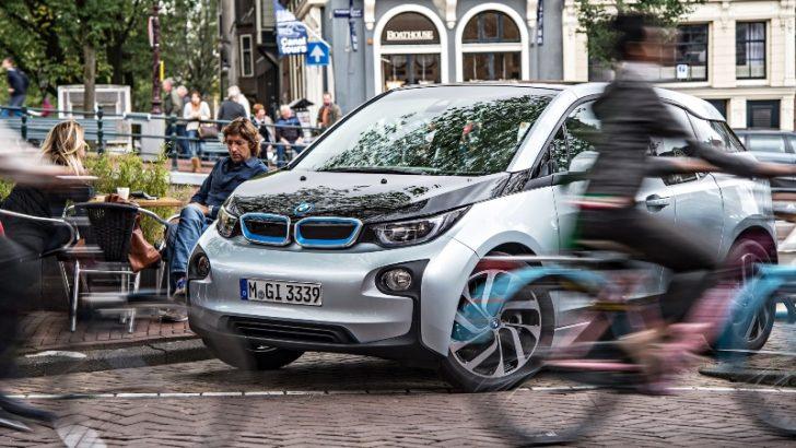 Doğuştan Elektrikli BMW i3 En Çevreci Otomobil Seçildi!