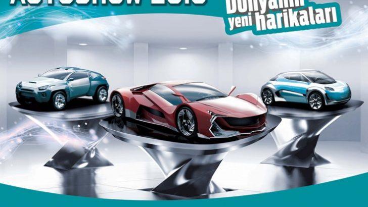 İstanbul Autoshow 2015'te bir araya gelecek
