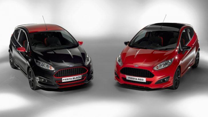 Yeni Ford Fiesta Red ve BlackTürkiye'de