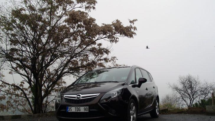 Opel Zafira 1.6 litre hacmindeki dizel motoru
