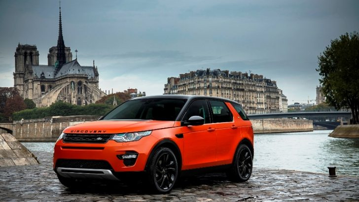 Land Rover Discovery Sport Türkiye'de!