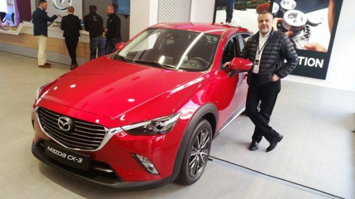 Yepyeni Mazda CX-3 Türkiye'de Mayıs ayında görücüye çıkacak