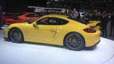 Porsche Cayman GT4'ün lastikleri Michelin'den!