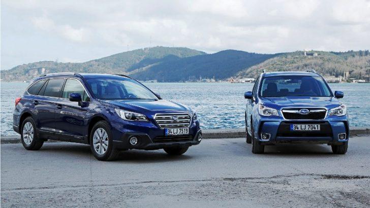EyeSight Sürüş Teknolojili Subaru Outback ve Yeni Turbo Dizel Forester Türkiye Yollarında