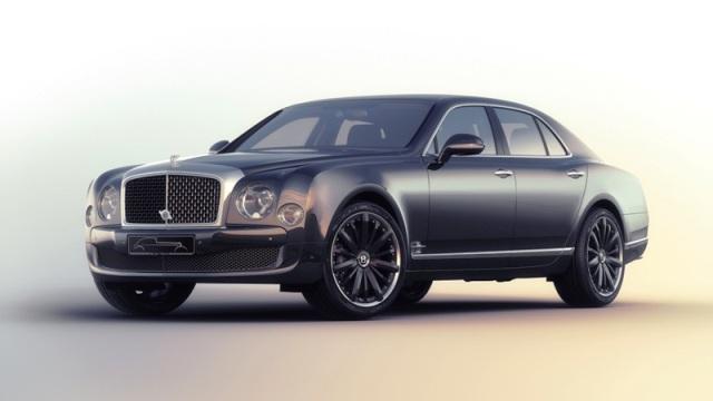 Bentley Mulsanne Speed Blue 2
