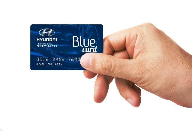 Hyundai Blue Card2