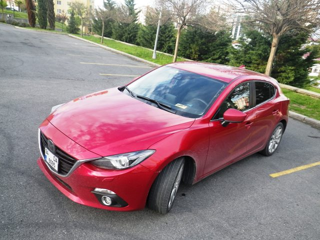 Mazda 3 test2