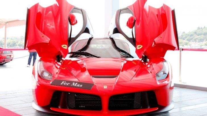 """Ferrari, 3. İstanbul Concours d'Elegance Yarışmasının """"Özel Markası""""!"""