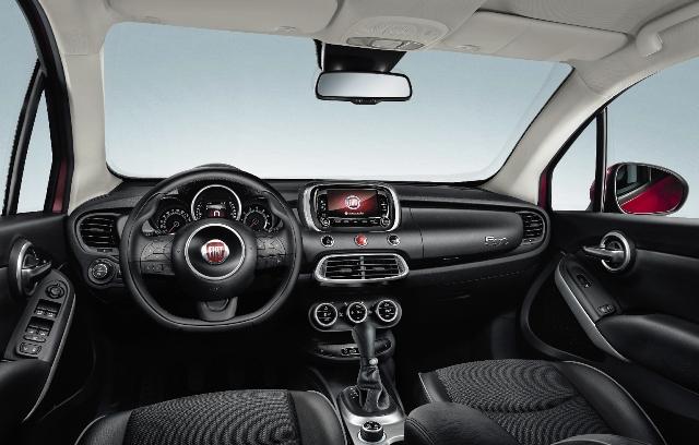 Fiat 500X Kokpit