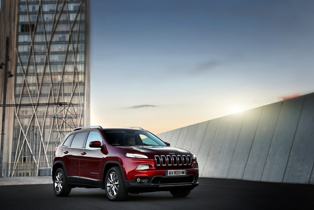 The all-new 2014 Jeep Cherokee Limited is the first mid-size SUV to feature a standard nine-speed automatic transmission; choice of two world class engines, premium on-road driving dynamics and improved fuel economy.
