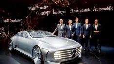 """Mercedes-Benz """"Otomobilin Geleceği"""" temasıyla IAA Frankfurt Otomobil Fuarı'nda"""