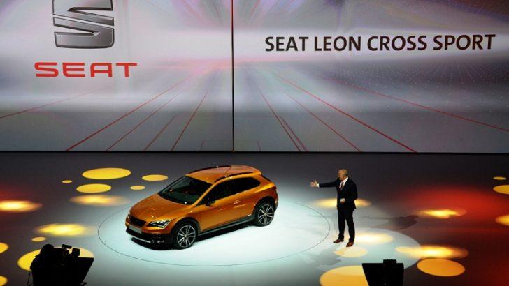 SEAT, Uluslararası Frankfurt Fuarı'nda  Leon Cross Sport'ı tanıttı!