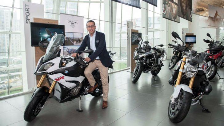 BMW motosiklet Borusan Oto ile İstanbul Anadolu Yakası'nda